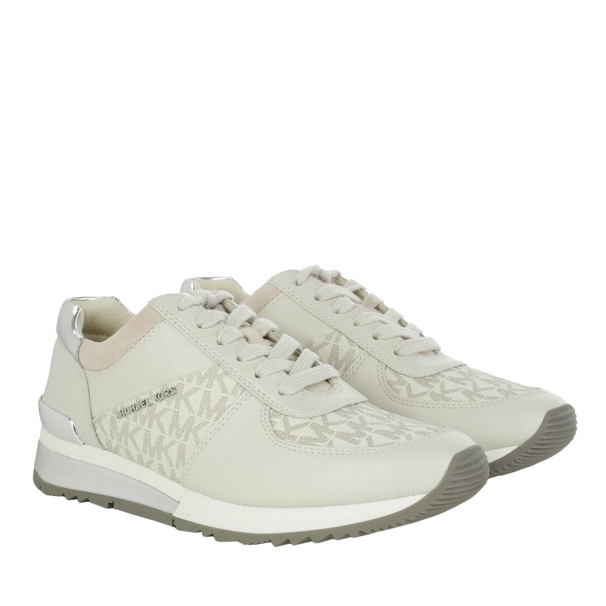 Michael Kors Sneakers - Allie Wrap Trainer Vanilla - in weiß - für Damen