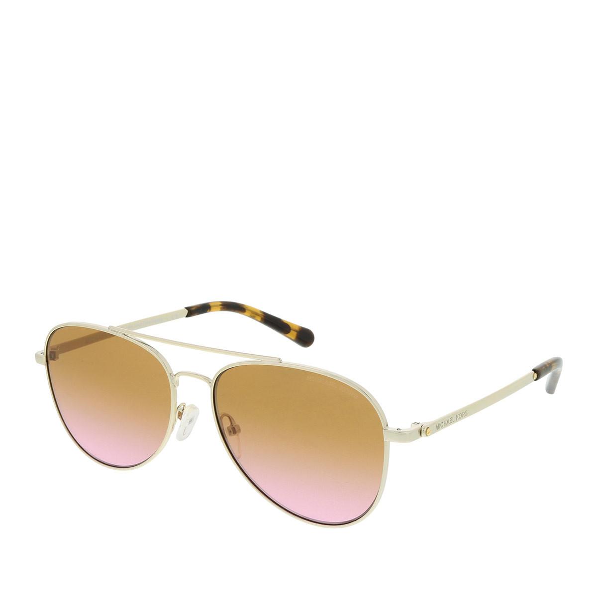 Michael Kors Sonnenbrille - MK 0MK1045 56 1014A5 - in gold - für Damen