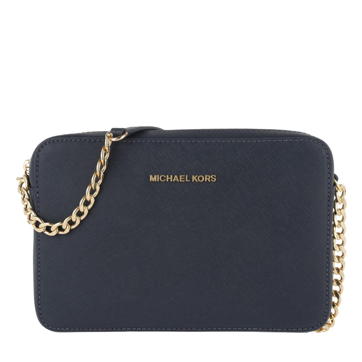 Michael Kors Umhängetasche - Large Ew Crossbody Bag Admiral - in blau - für Damen