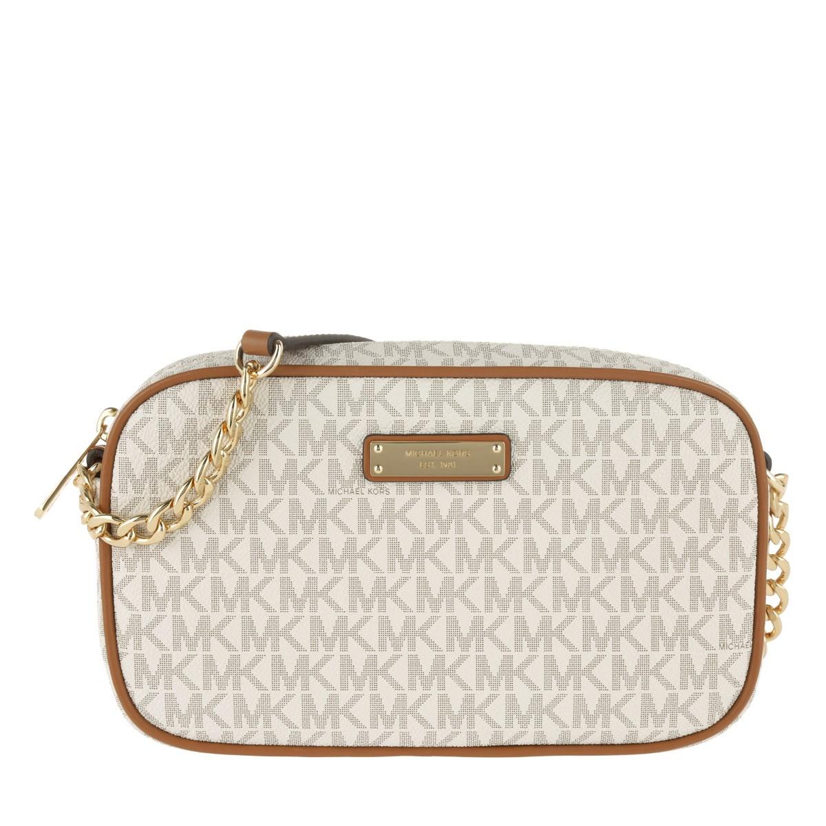 Michael Kors Umhängetasche - MD EW Crossbody Bag Vanilla - in beige - für Damen