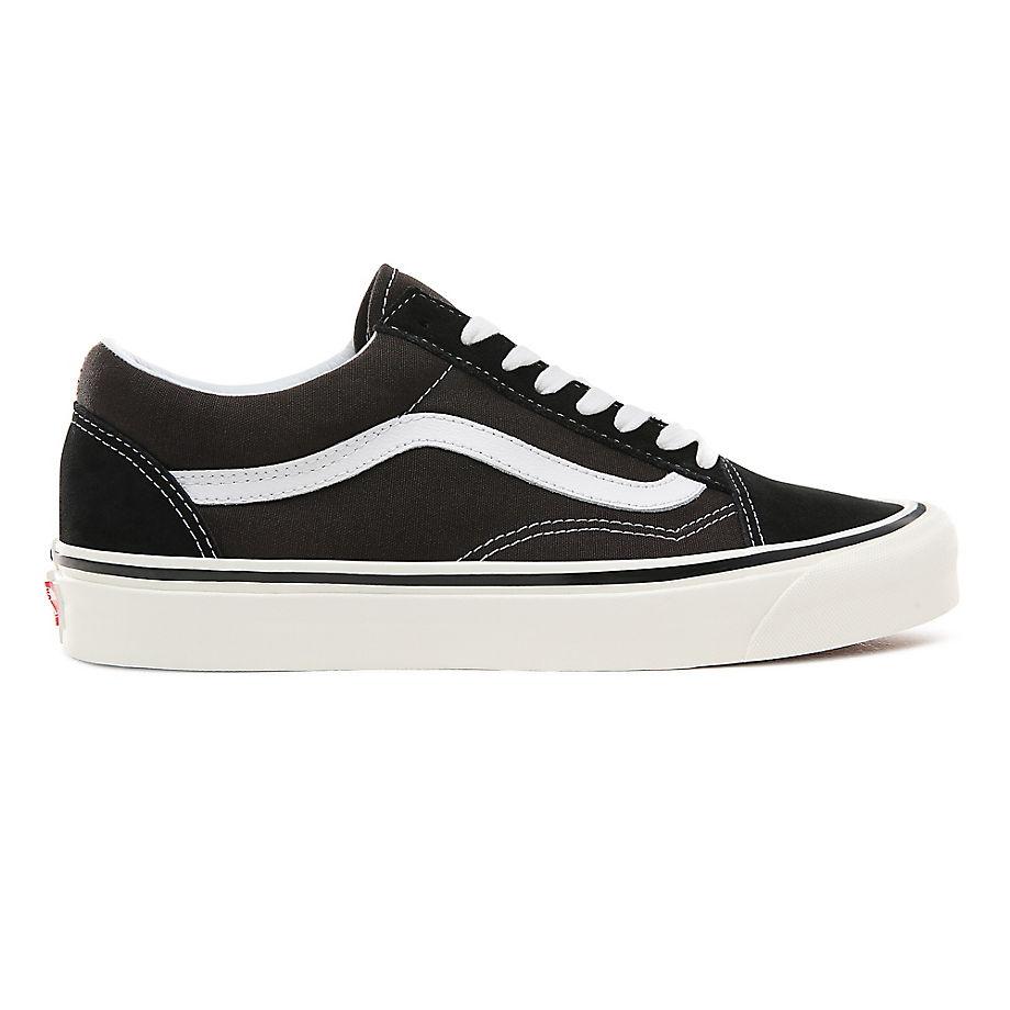VANS Anaheim Factory Old Skool 36 Dx Schuhe ((anaheim Factory) Black/true White) Damen Weiß, Größe 40.5