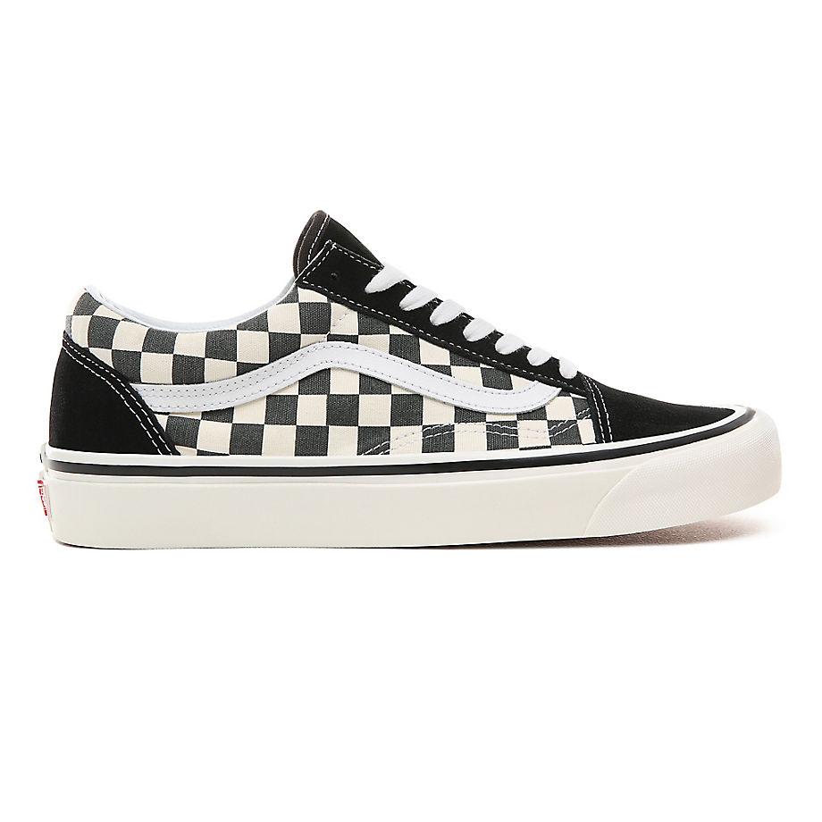 VANS Anaheim Factory Old Skool 36 Schuhe ((anaheim Factory) Black/true White) Herren Weiß, Größe 36