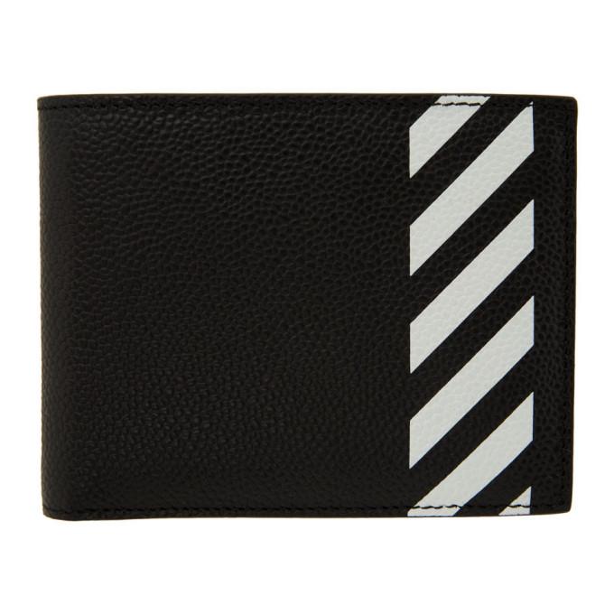 Off-White SSENSE Exclusive Black Diag Bifold Wallet
