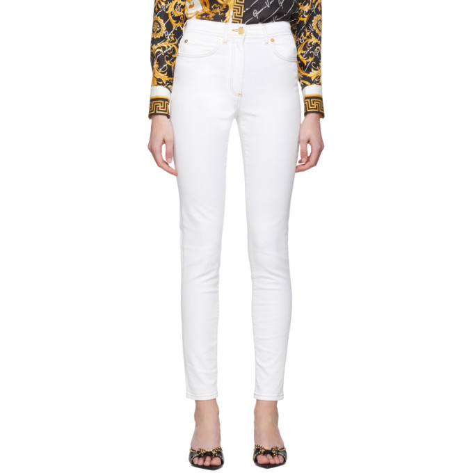 Versace White Washed Jeans