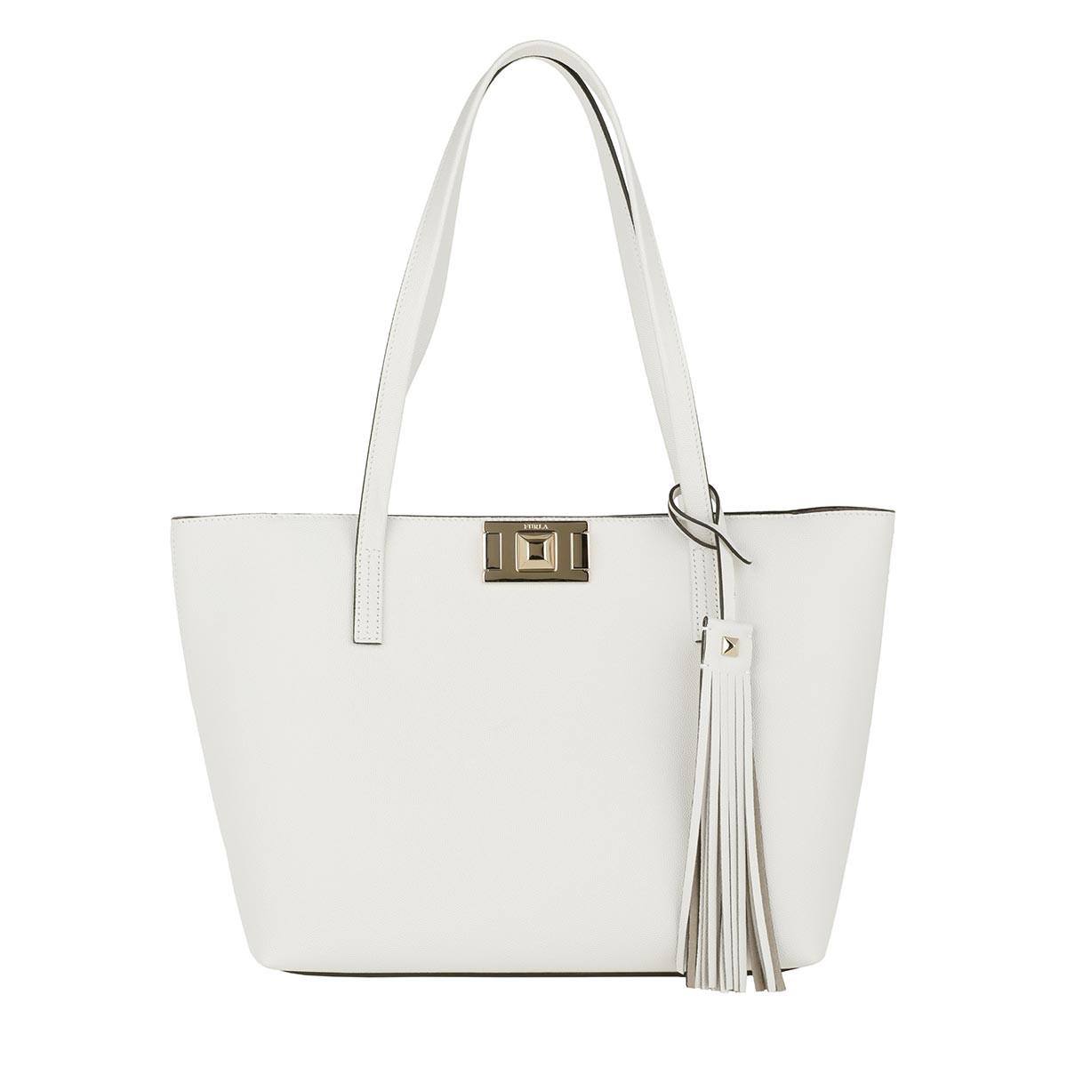 Furla Shopper - Mimi M Tote Chalk - in weiß - für Damen