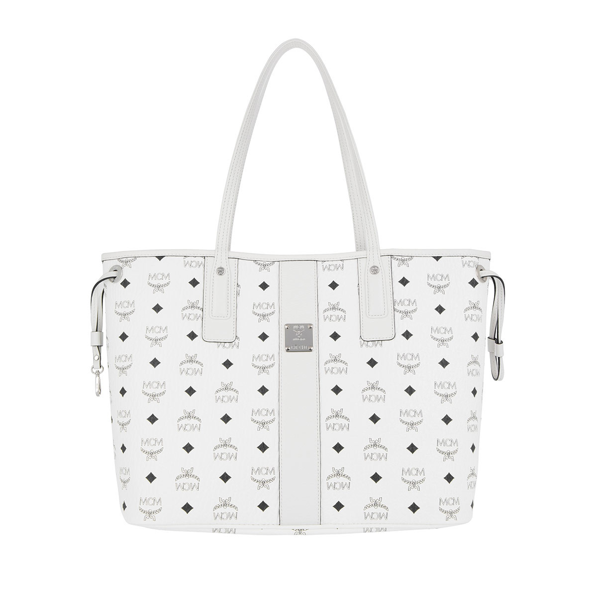 MCM Shopper - Project Visetos Liz Shopper White - in weiß - für Damen