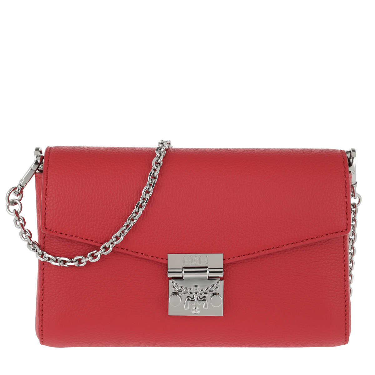 MCM Umhängetasche - Millie Park Avenue Crossbody Small Ruby Red - in rot - für Damen