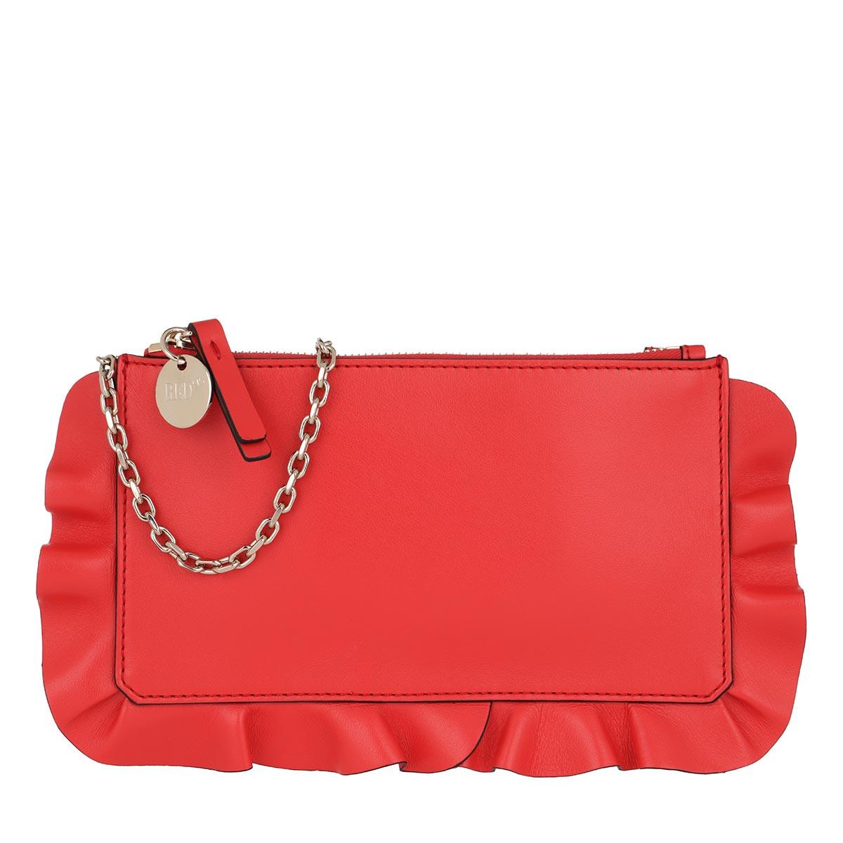 Red Valentino Umhängetasche - Pochette Coral - in rot - für Damen