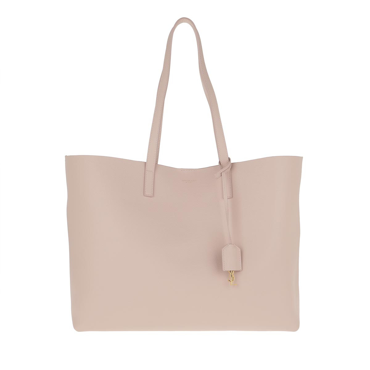 Saint Laurent Shopper - East West Medium Tote Leather Marble Pink - in rosa - für Damen