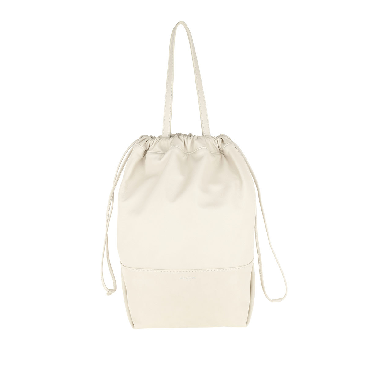 Saint Laurent Shopper - Harlem Shopping Bag Lambskin Crema - in weiß - für Damen