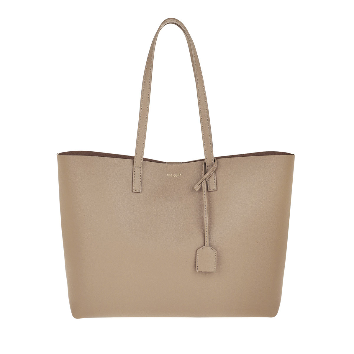 Saint Laurent Shopper - Large Shopping Bag Dusty Grey - in beige - für Damen