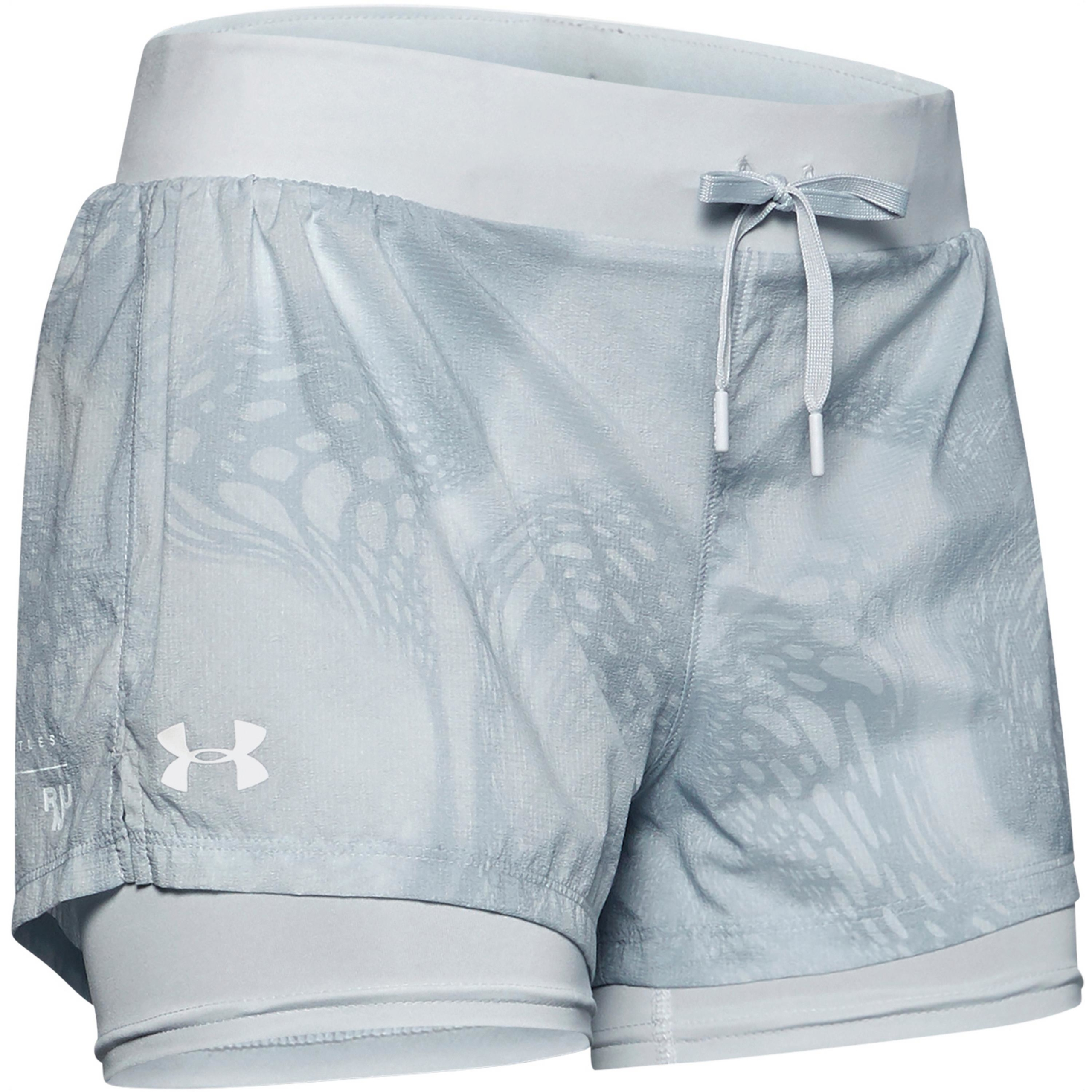 Under Armour Run SpeedPocket 2in1 Weightless Laufshorts Damen