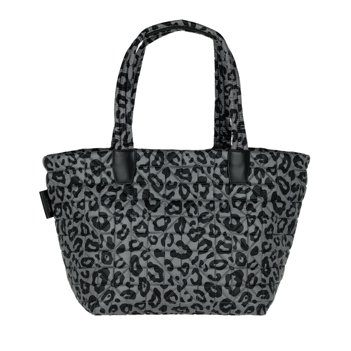 VeeCollective Shopper - Medium Tote Vee Leopard - in grau - für Damen