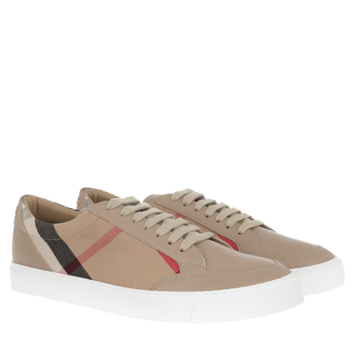 Burberry Sneakers - House Check Sneaker Tan - in beige - für Damen