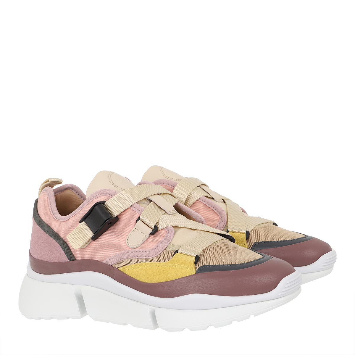 Chloé Sneakers - Sonnie Low Top Sneaker Pink Lavender - in rosa - für Damen