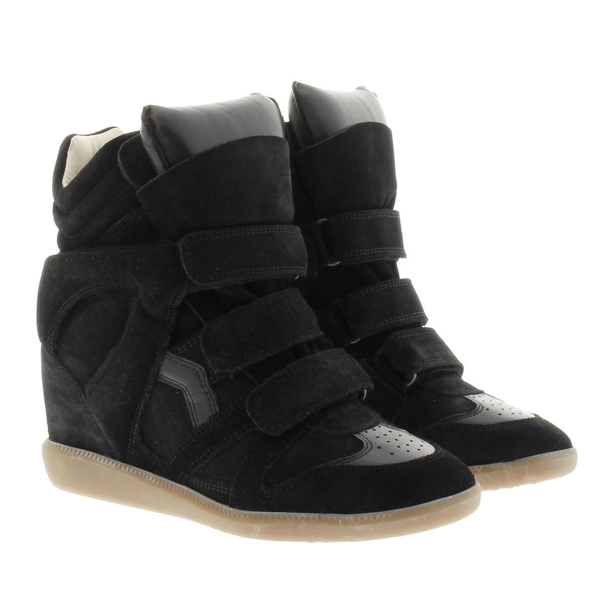 Isabel Marant Sneakers - Bekett Sneaker Suede Black - in schwarz - für Damen