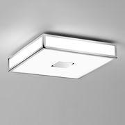 Mashiko Square LED Deckenleuchte / 40 x 40 cm - Polycarbonat - Astro Lighting - Weiß,Verchromt