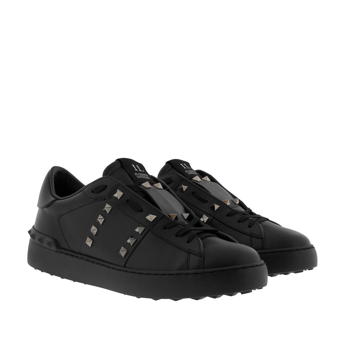 Valentino Sneakers - Rockstud Sneaker 0NO/Nero - in schwarz - für Damen