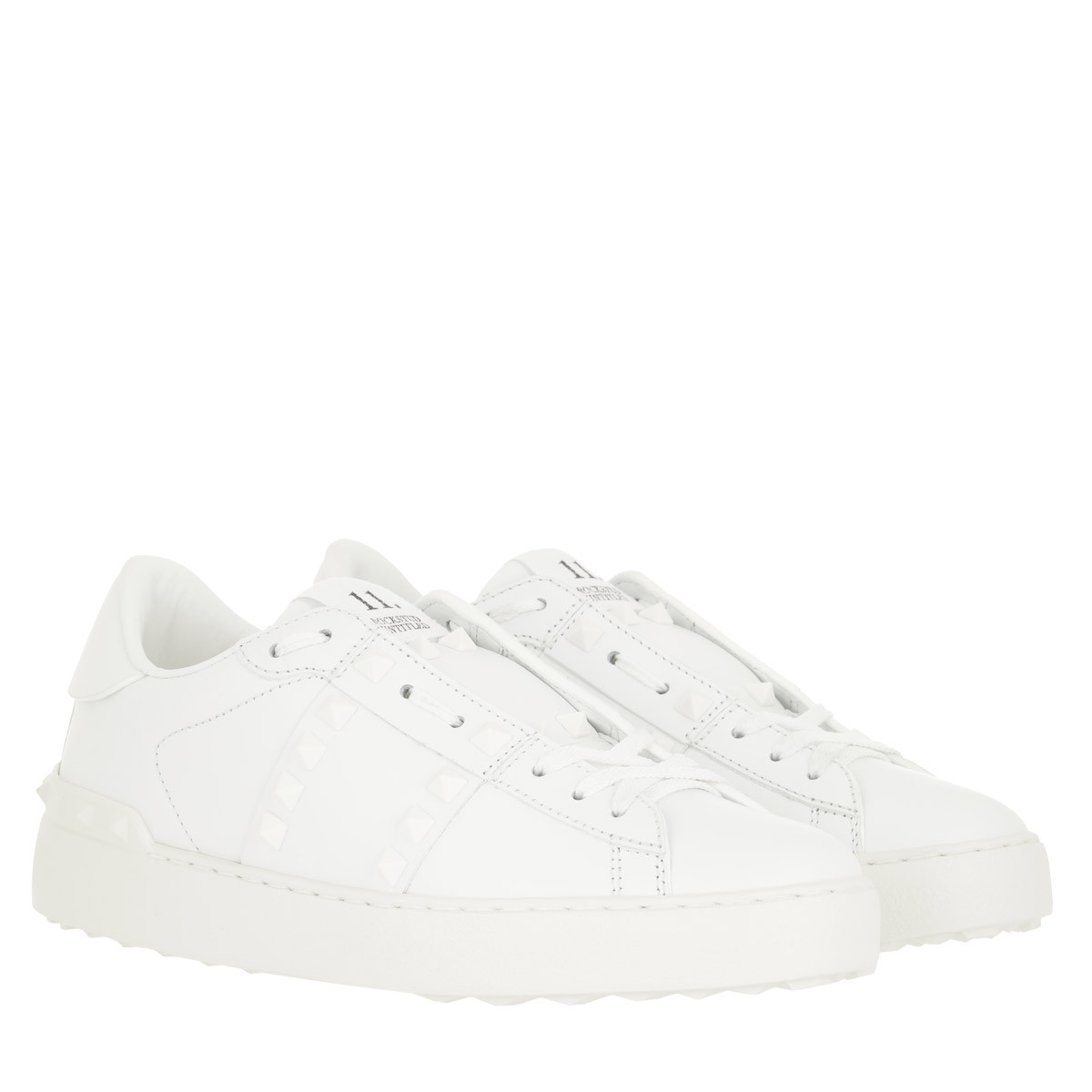 Valentino Sneakers - Rockstud Sneaker Untitled White - in weiß - für Damen