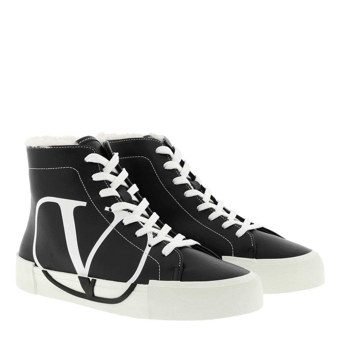 Valentino Sneakers - Sneaker Low Black/White - in schwarz - für Damen