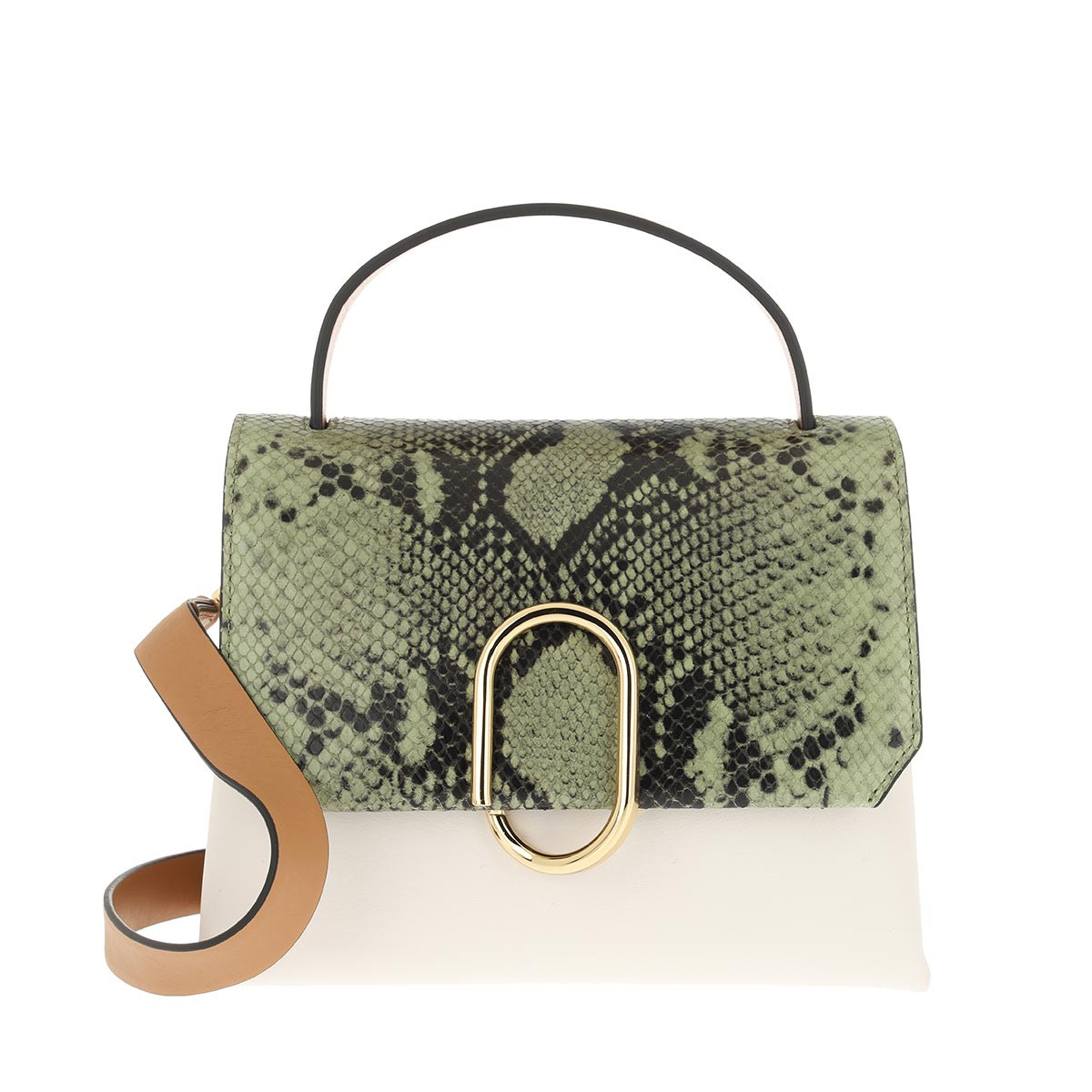 3.1 Phillip Lim Satchel Bag - Alix Mini Top Handle Satchel Green Multi - in bunt - für Damen
