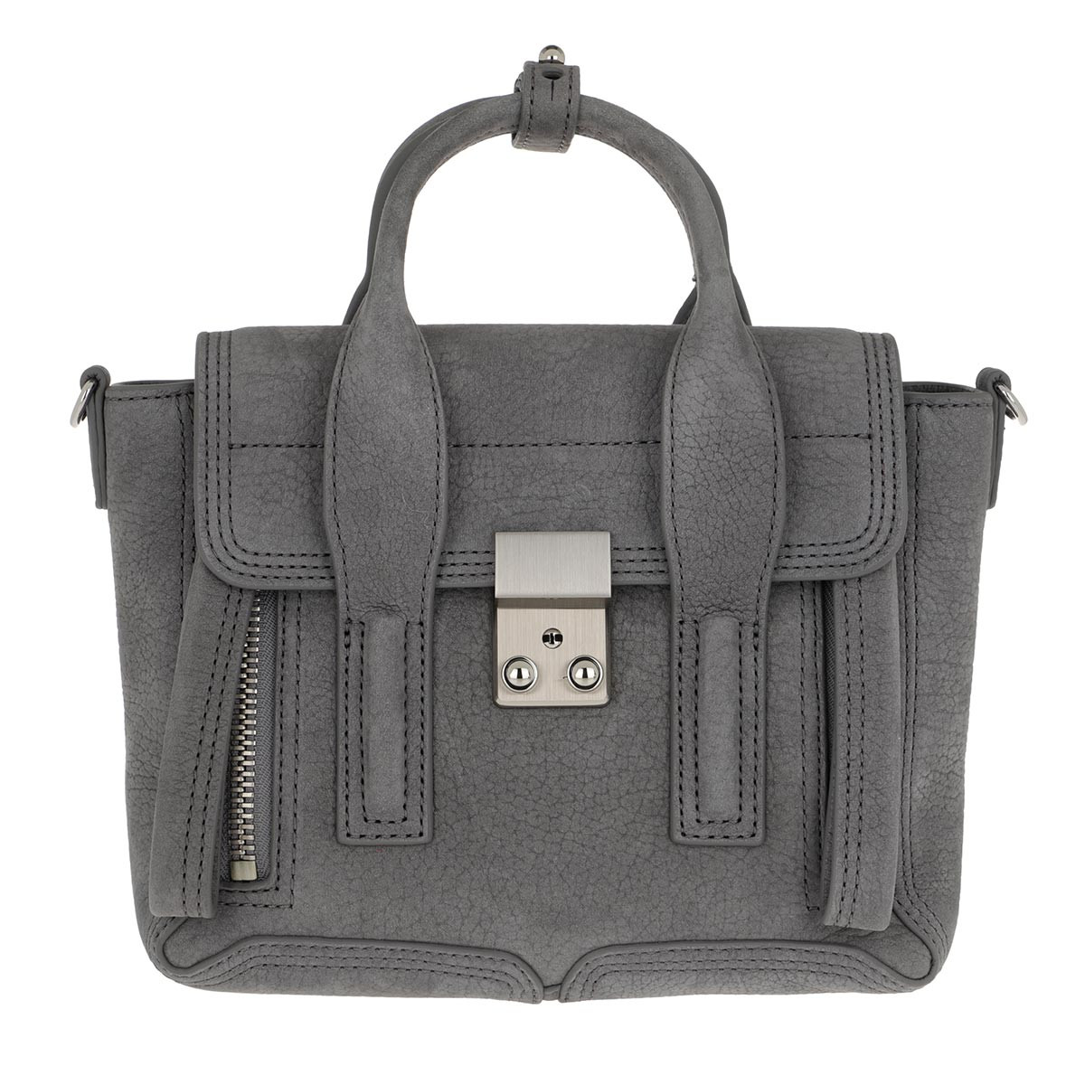 3.1 Phillip Lim Satchel Bag - Pashli Mini Satchel Bag Cement - in grau - für Damen