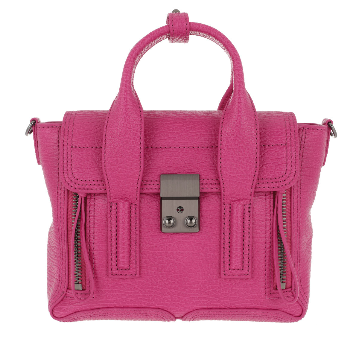 3.1 Phillip Lim Satchel Bag - Pashli Mini Satchel Bag Fuchsia - in pink - für Damen