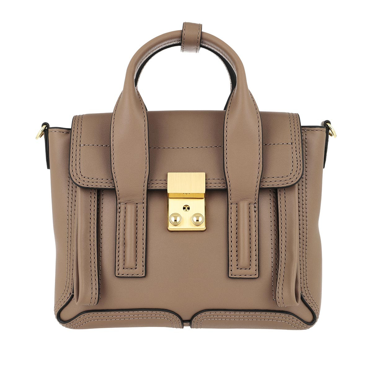 3.1 Phillip Lim Satchel Bag - Pashli Mini Satchel Coffee - in braun - für Damen