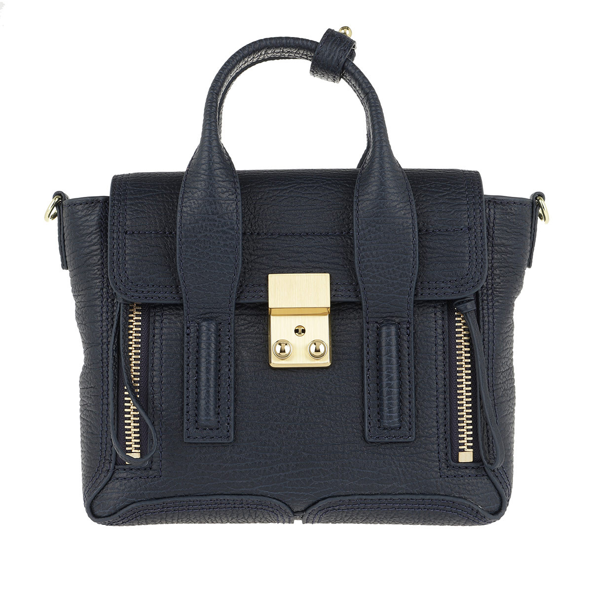 3.1 Phillip Lim Satchel Bag - Pashli Mini Satchel Ink - in marine - für Damen