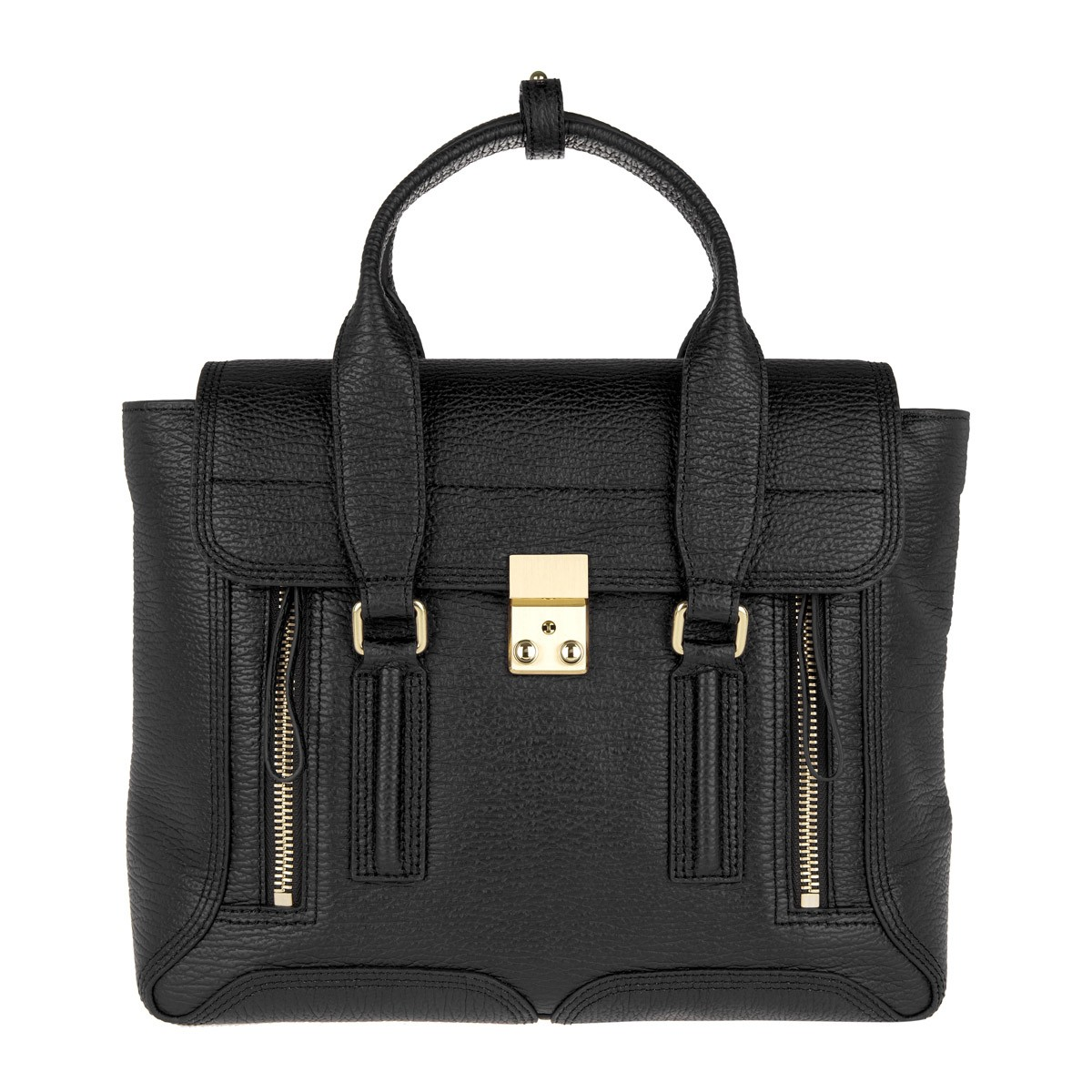 3.1 Phillip Lim Tote - Pashli Medium Satchel Black - in schwarz - für Damen