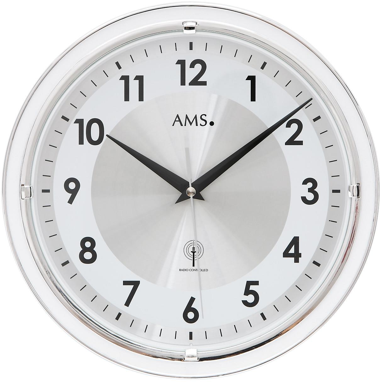 AMS Funkwanduhr F5945