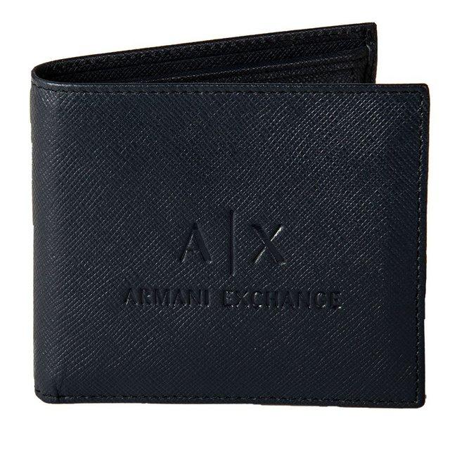 """ARMANI EXCHANGE Geldbörse """"Herren Geldbeutel, echtes Leder - Man Leather"""""""