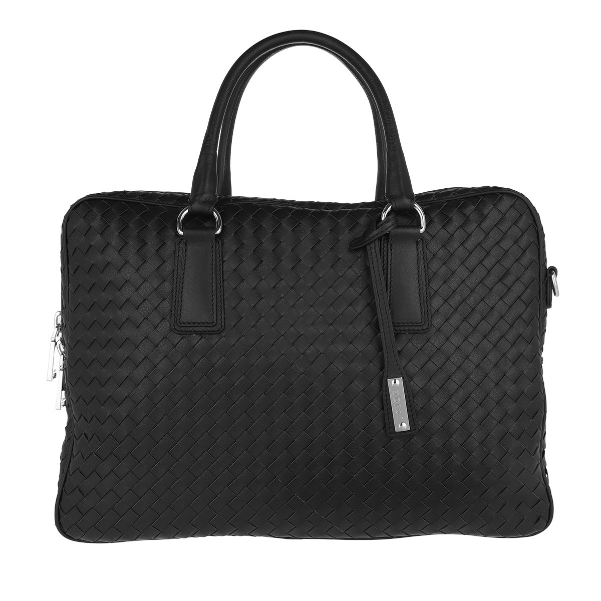 Abro Aktentasche - Nappa Lotus Handle Bag Black/Nickel - in schwarz - für Damen