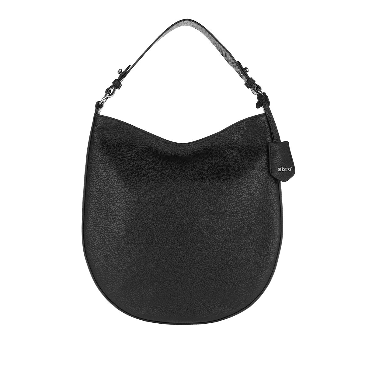 Abro Hobo Bag - Beutel Ay Black Nickel - in schwarz - für Damen