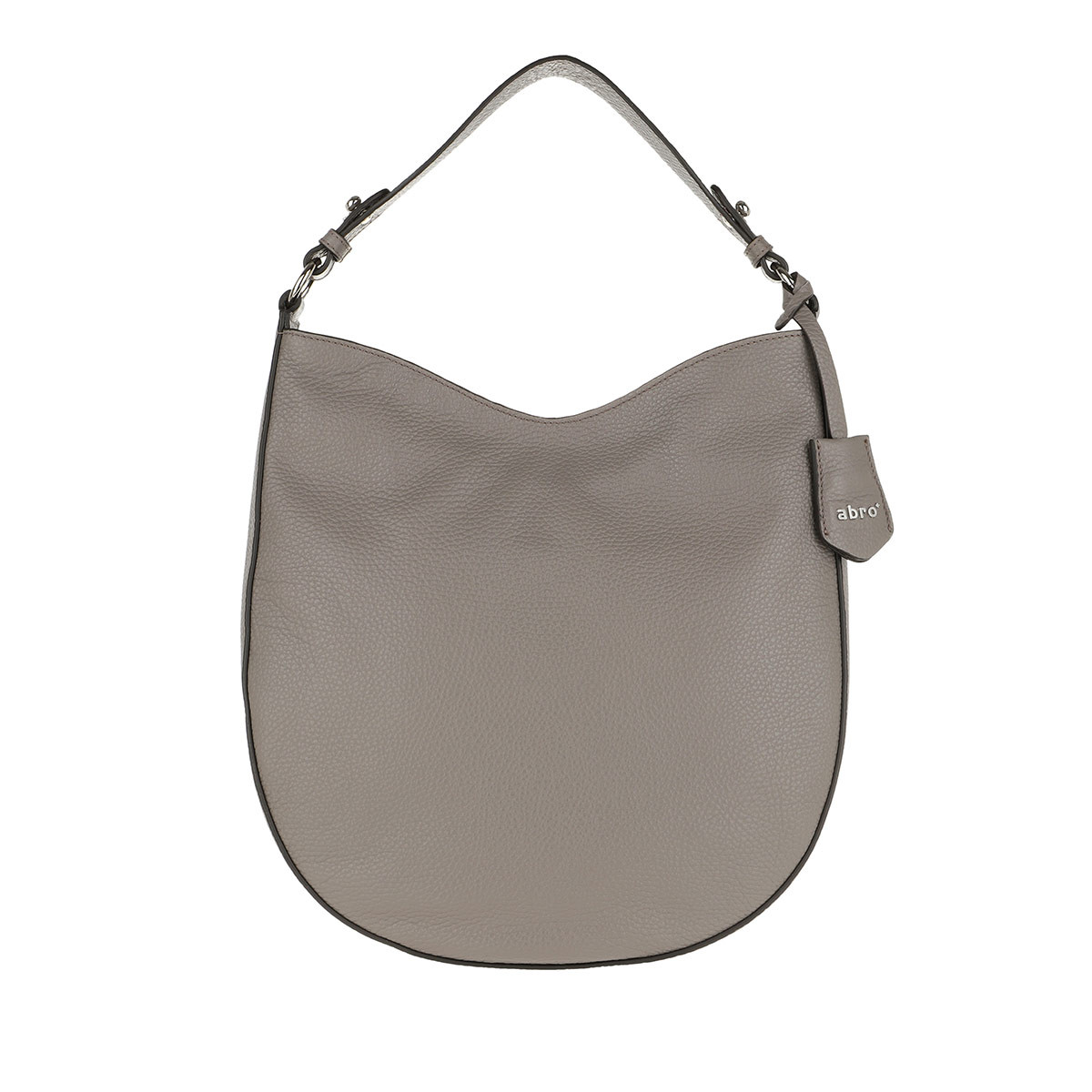 Abro Hobo Bag - Beutel Ay Zinc - in grau - für Damen