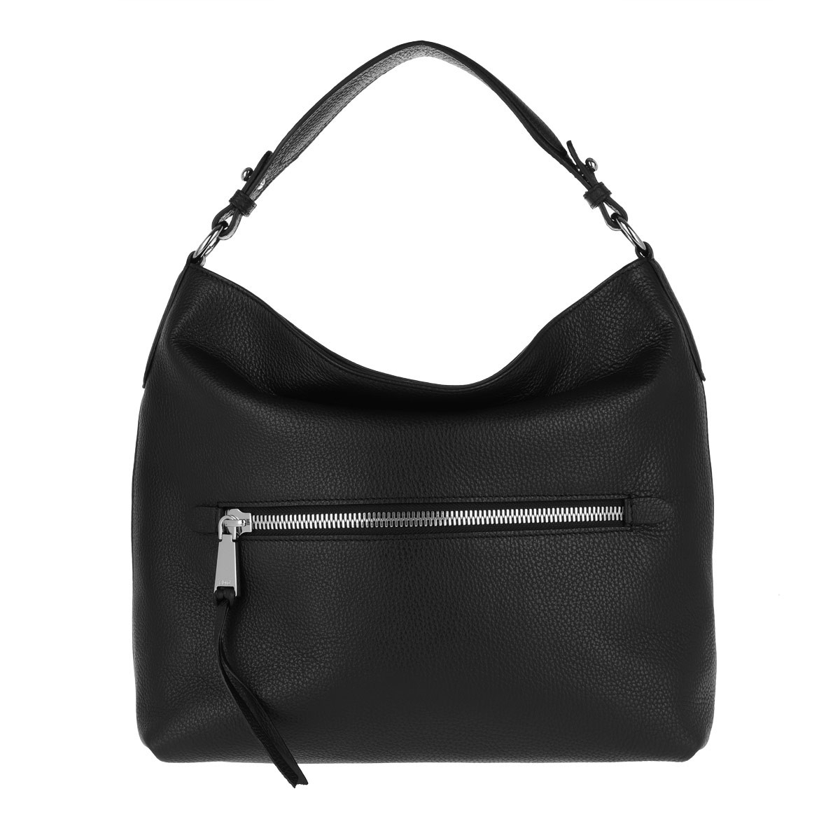 Abro Hobo Bag - Beutel Linna Small Black Nickel - in schwarz - für Damen