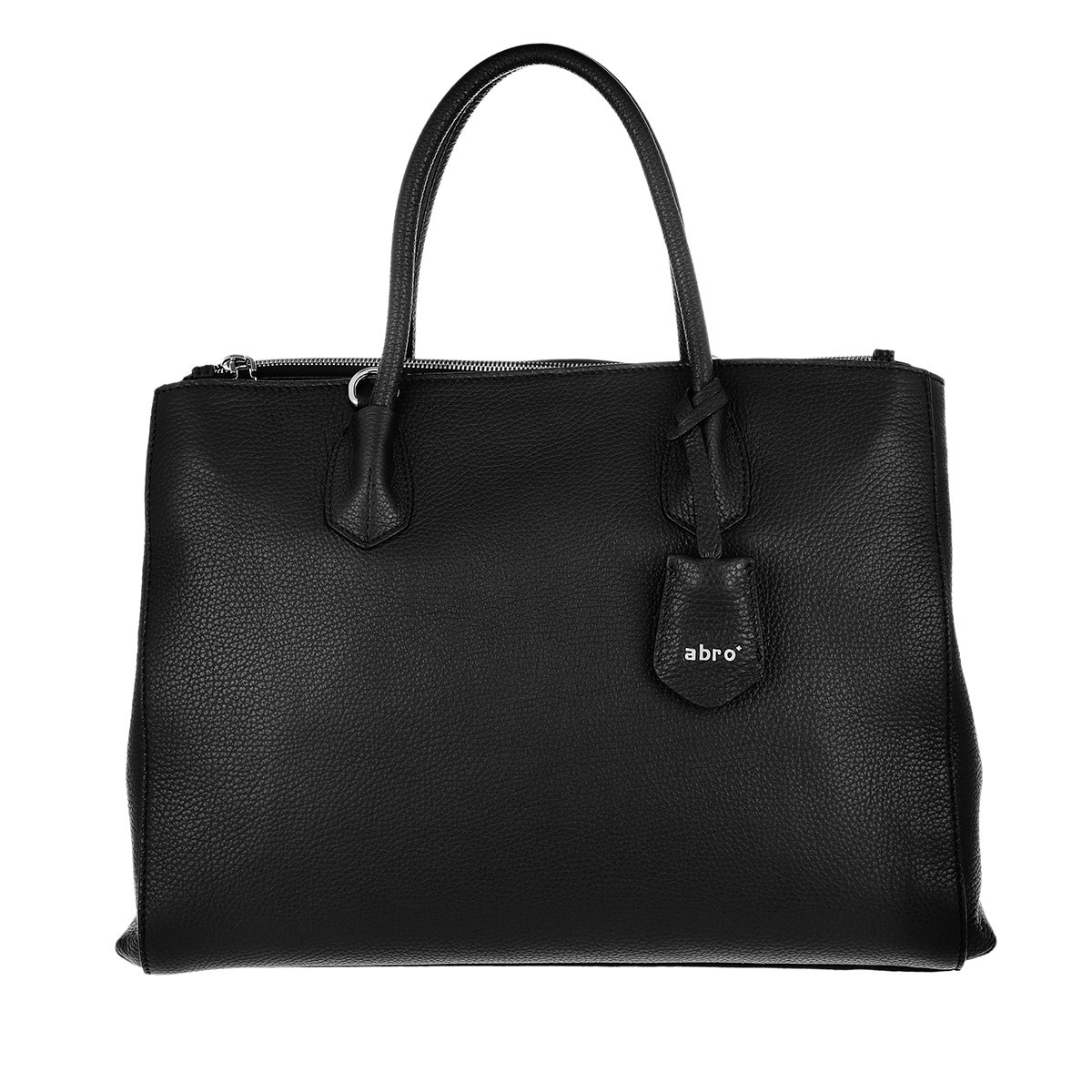 Abro Tote - Business Shopper Busy Large Black Nickel - in schwarz - für Damen