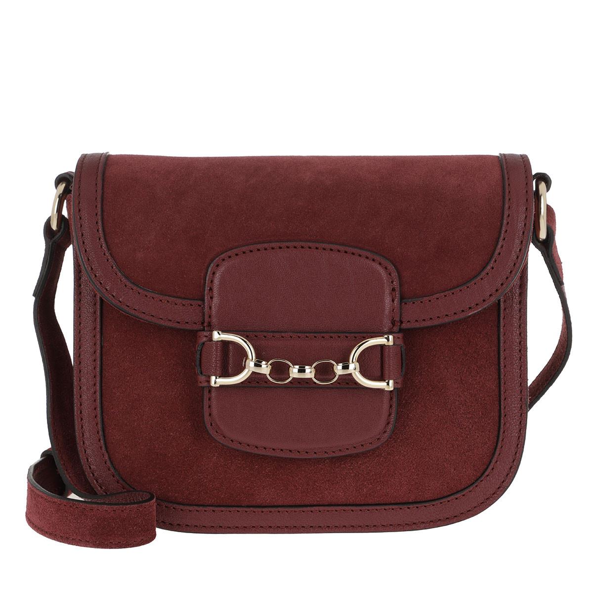 Abro Umhängetasche - Diana Crossboy Bag Small Bordeaux - in rot - für Damen