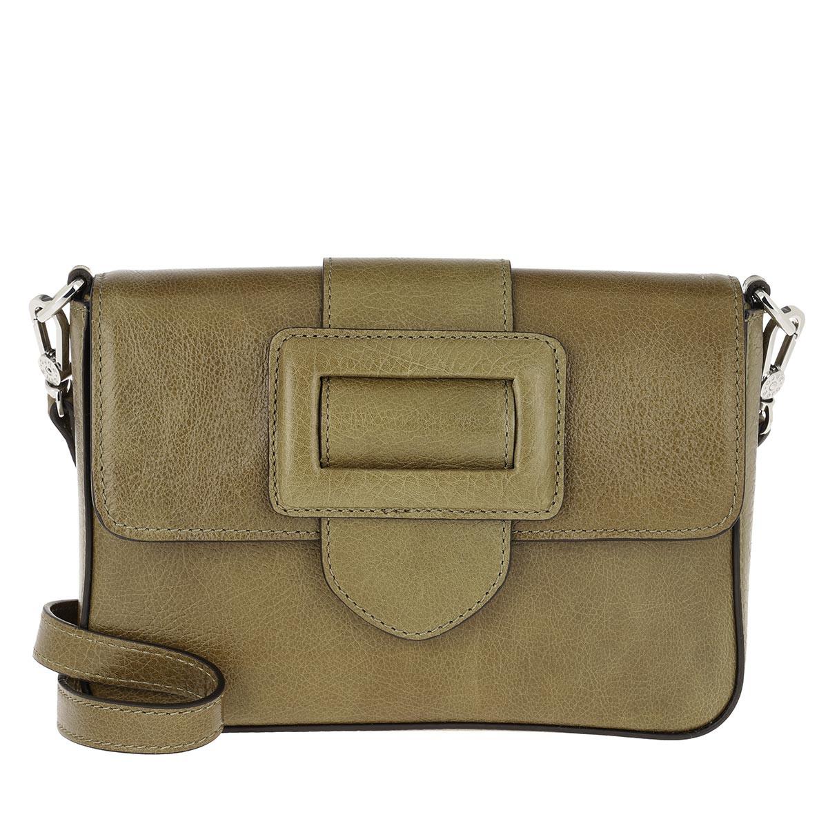 Abro Umhängetasche - Mini Cross Body Bag Oliv - in grün - für Damen