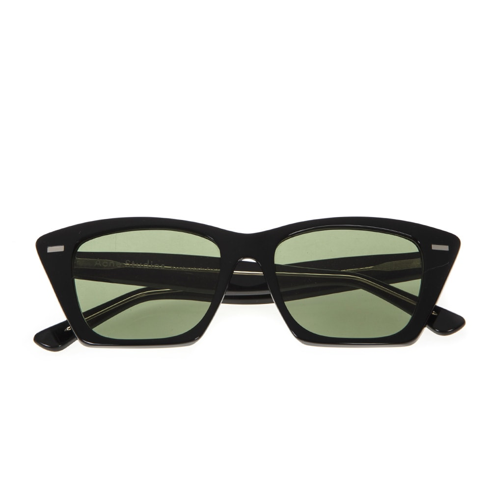 Acne Studios Black Ingrid Cat Eye Sunglasses