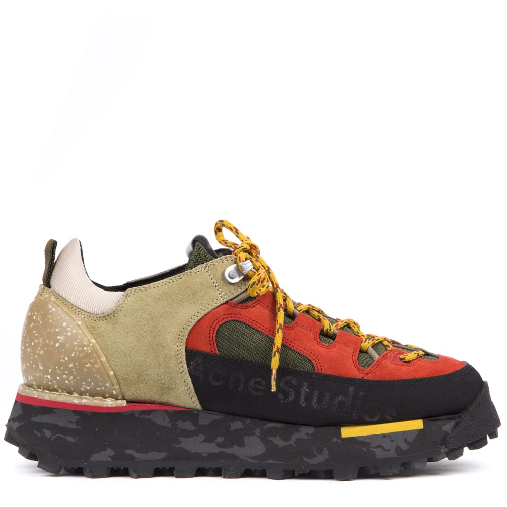 Acne Studios Multicolor Trekking Sneakers