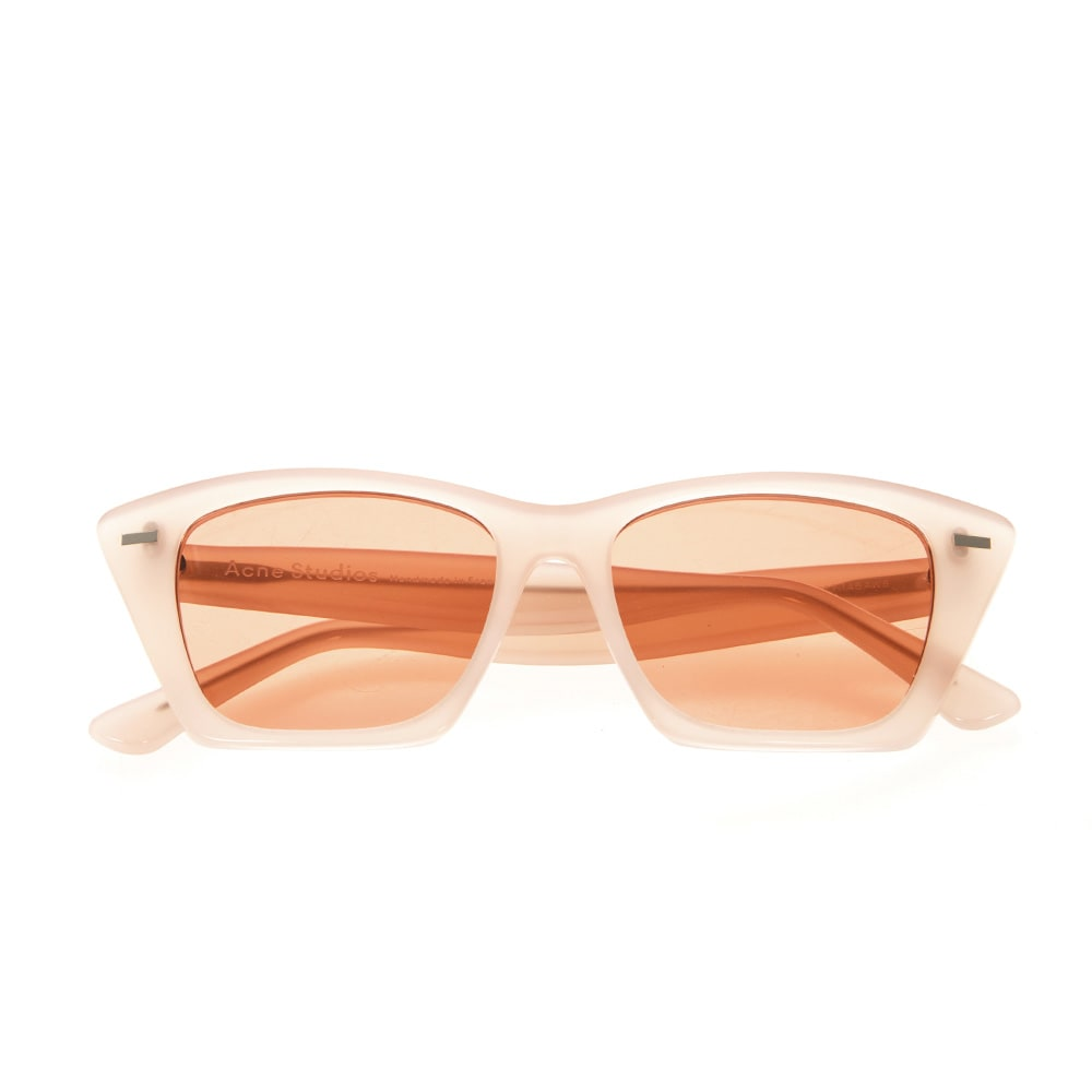 Acne Studios Pink Acetate Cateye Sunglasses