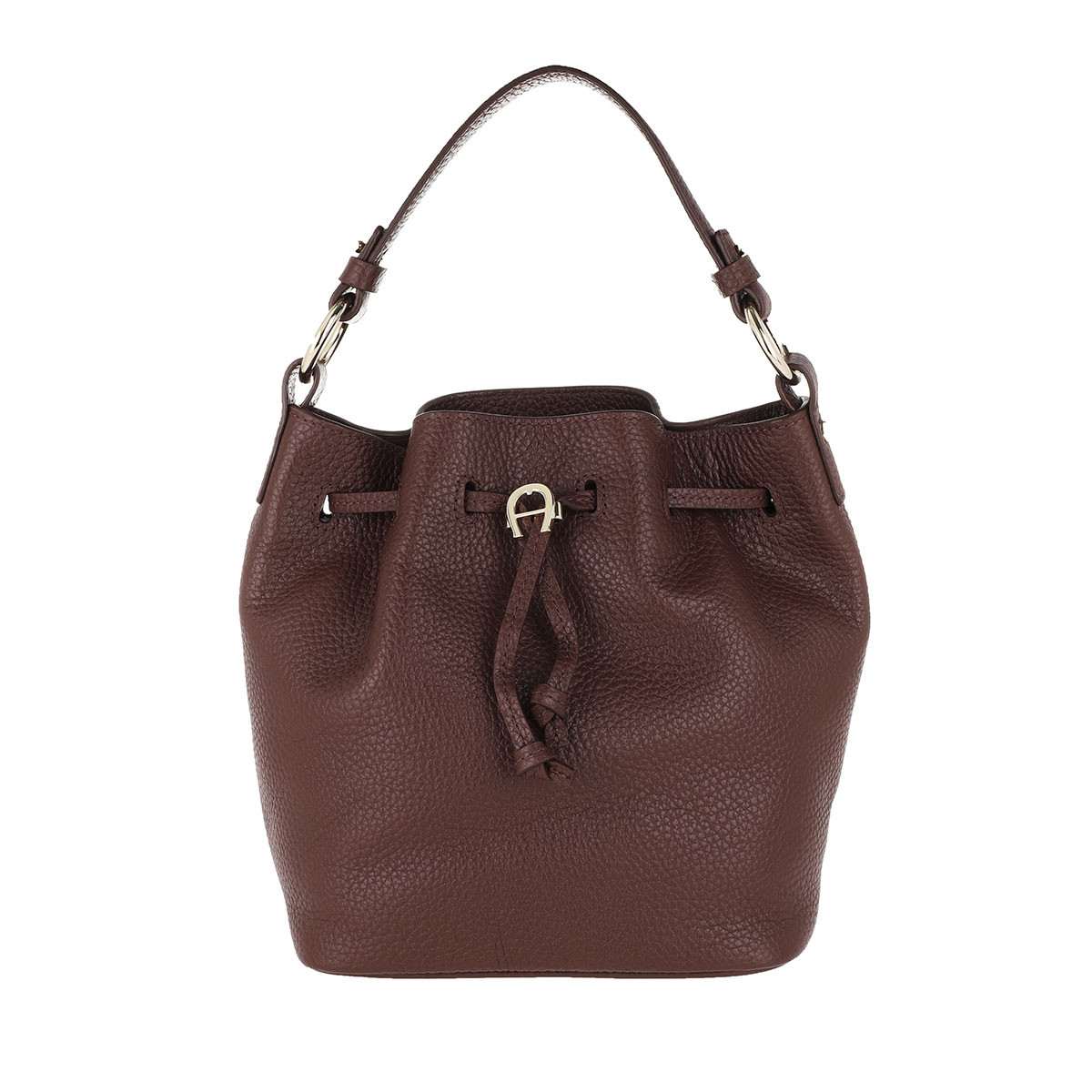 Aigner Beuteltasche - Tara Small Bucket Bag Bitter Chocolate Brown - in braun - für Damen