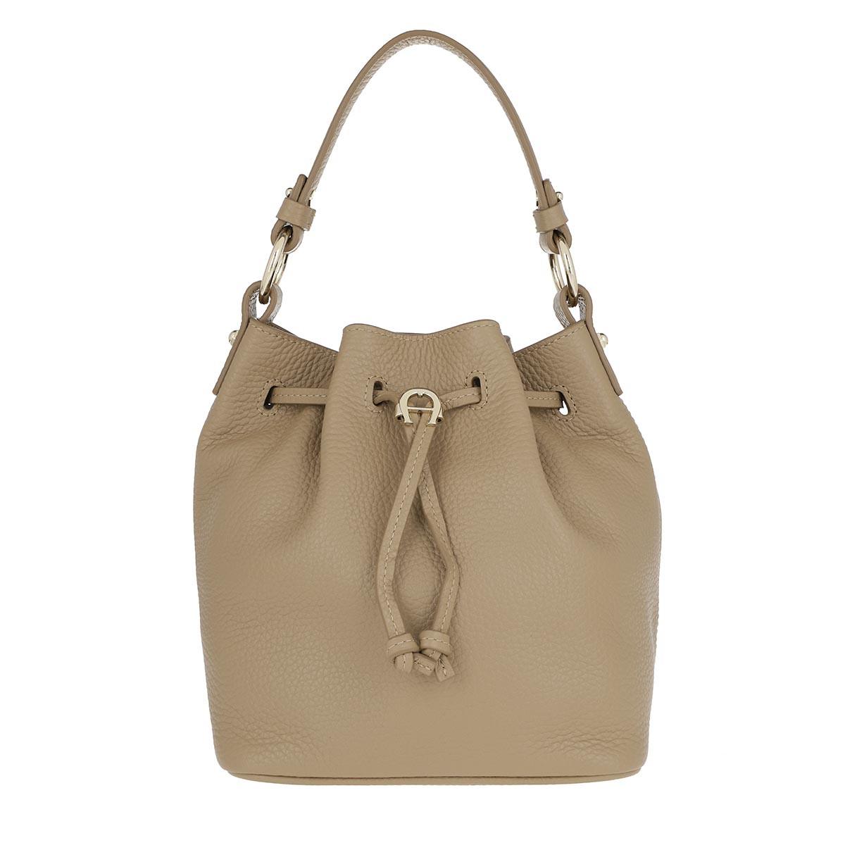 Aigner Beuteltasche - Tara Small Bucket Bag Cashmere Beige - in beige - für Damen