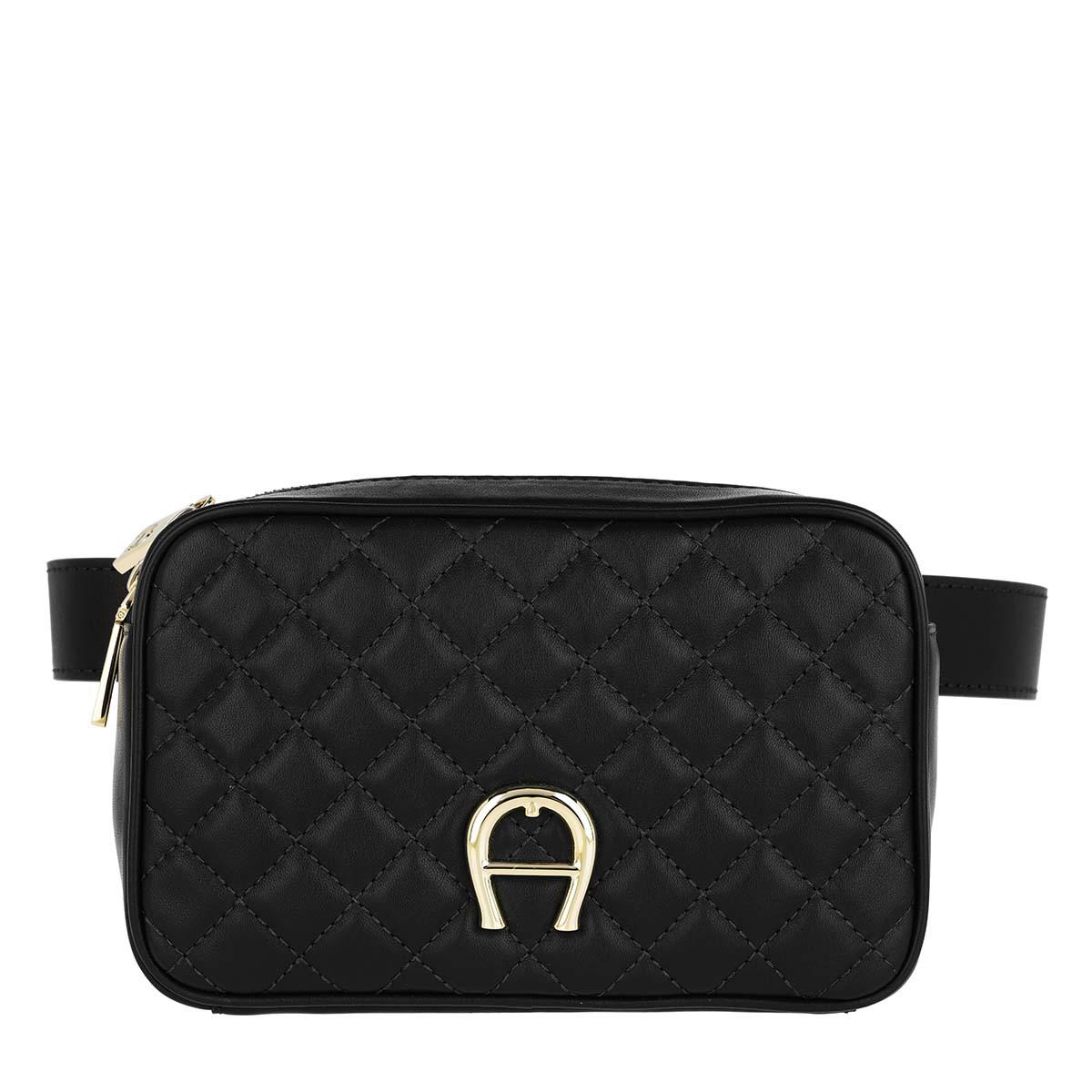 Aigner Gürteltasche - Garda Belt Bag Black - in schwarz - für Damen