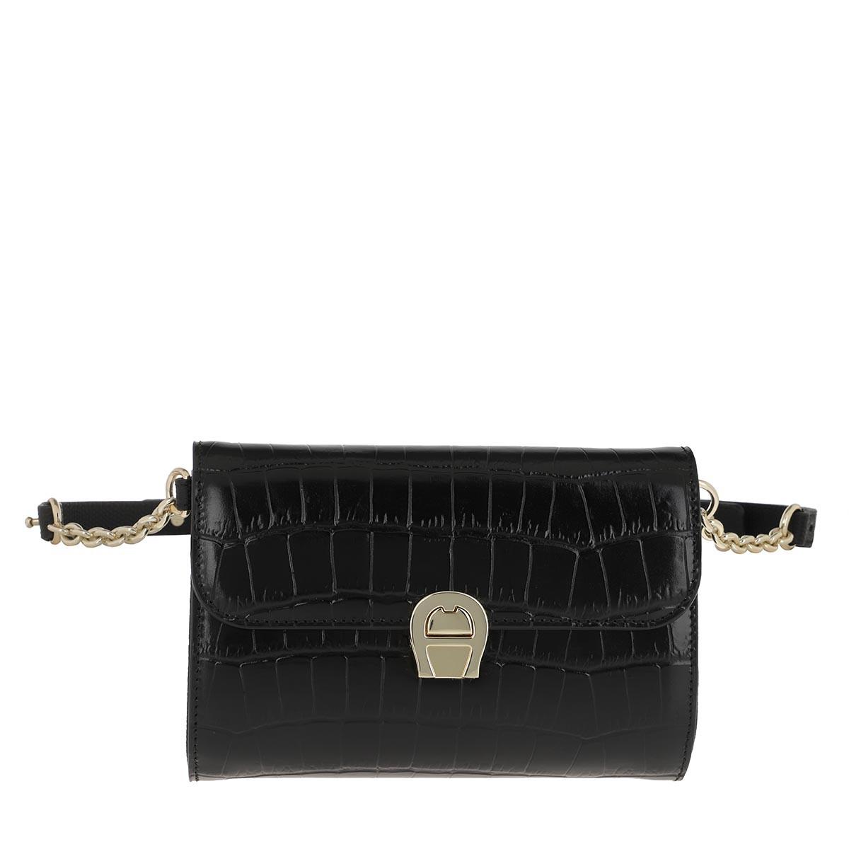 Aigner Gürteltasche - Genoveva Belt Bag Black - in schwarz - für Damen