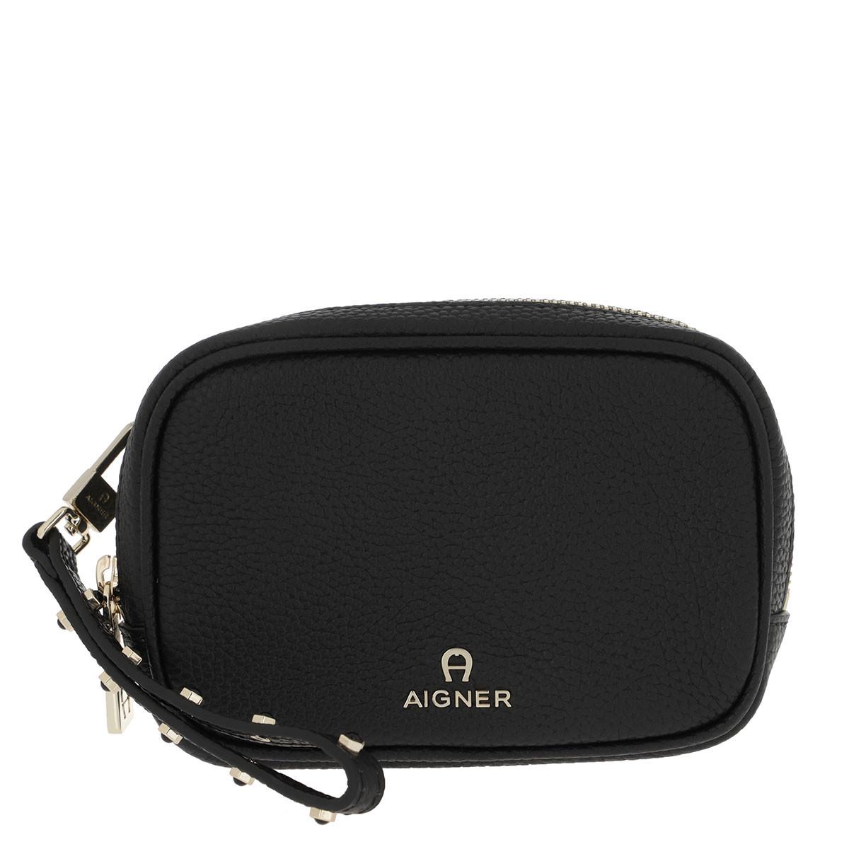 Aigner Pochette - Basics Clutch Black - in schwarz - für Damen