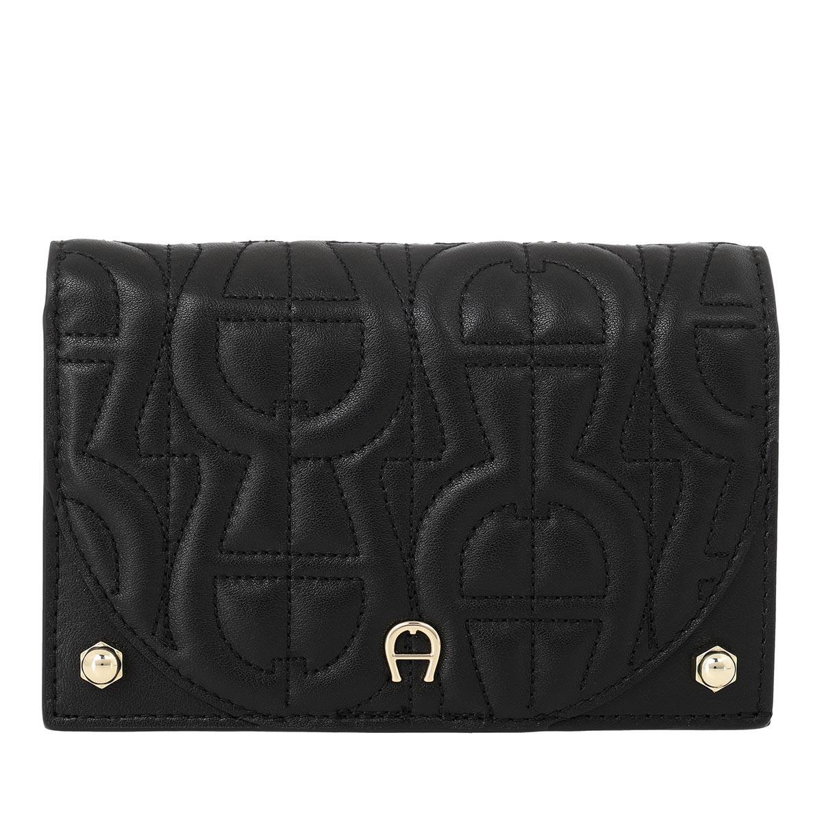 Aigner Portemonnaie - Diadora Wallet Black - in schwarz - für Damen