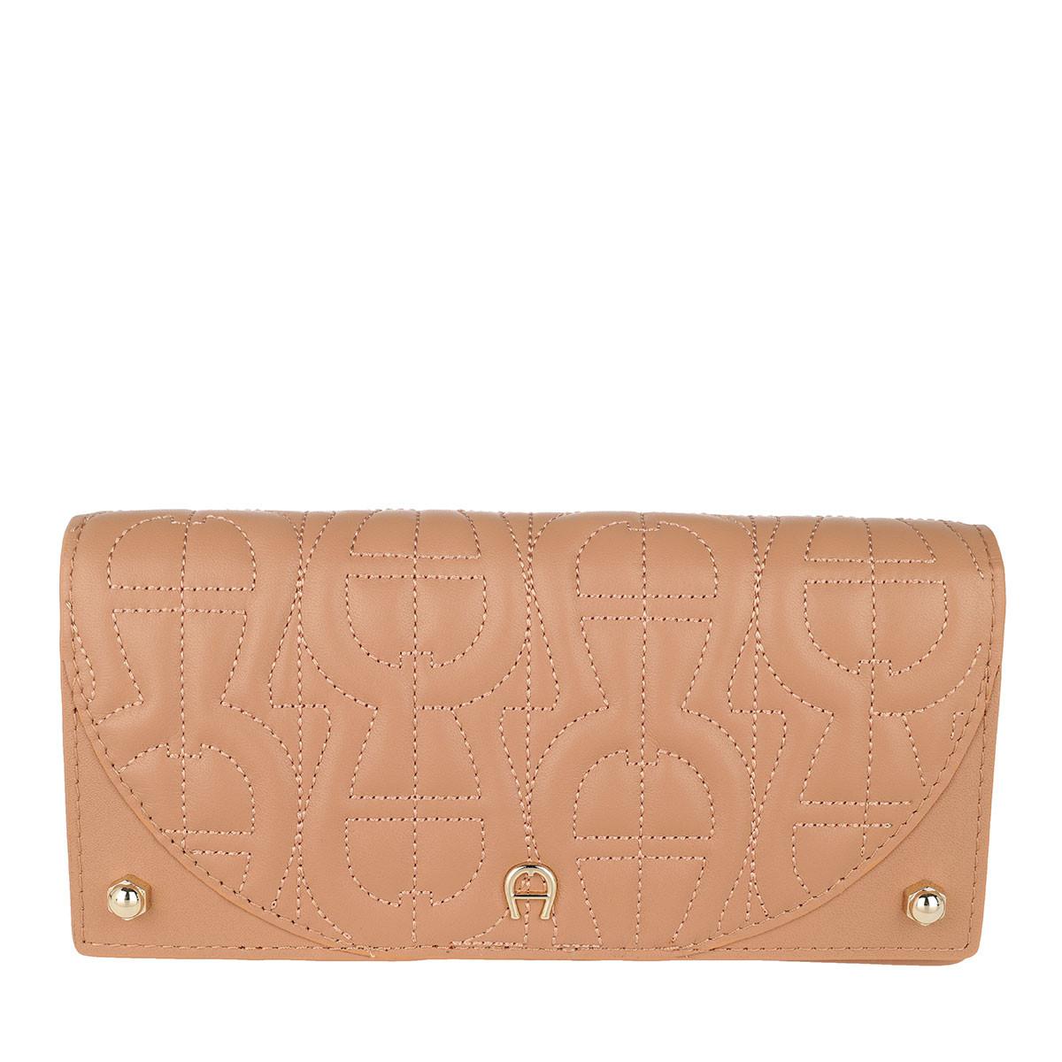 Aigner Portemonnaie - Diadora Wallet Vacchetta Brown - in beige - für Damen