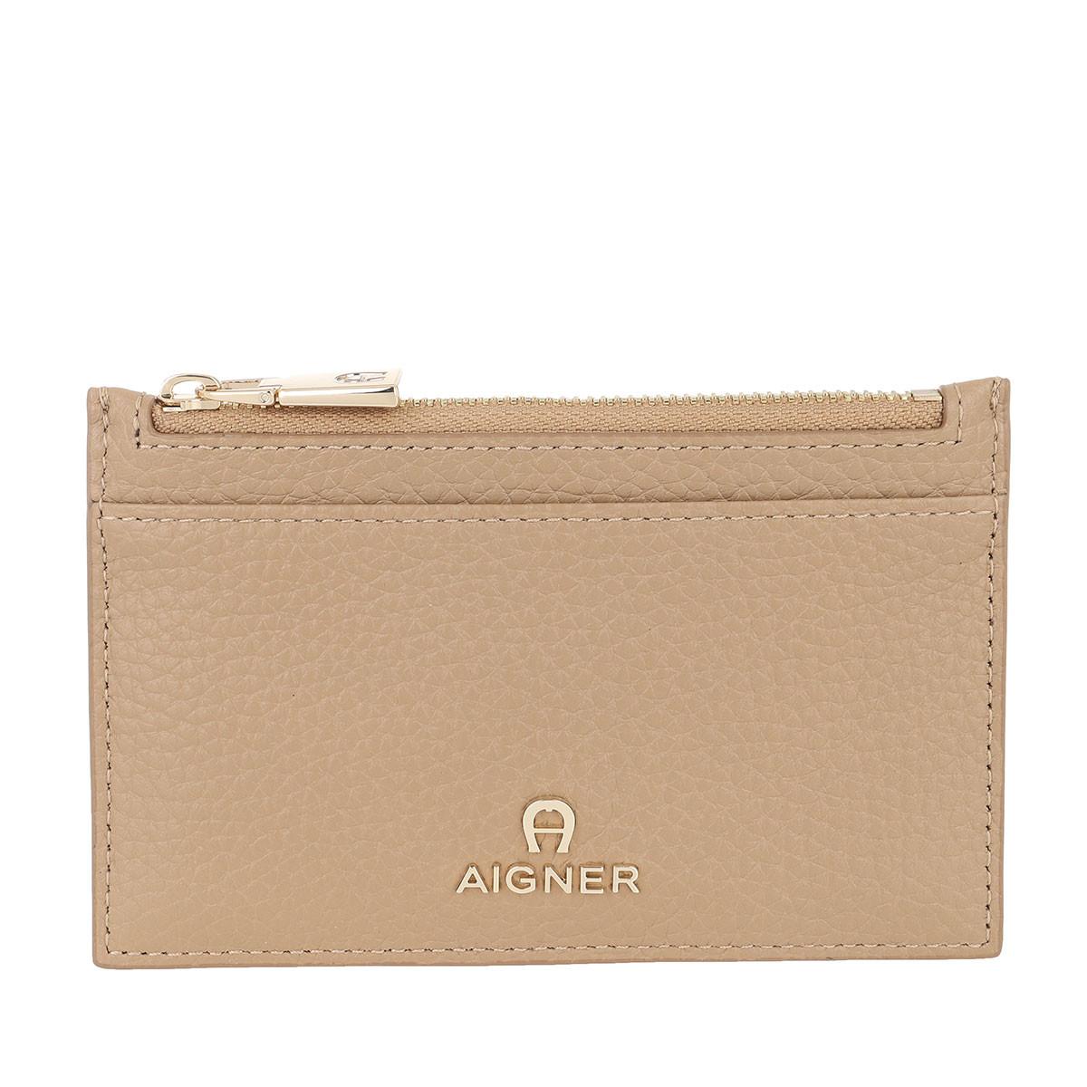 Aigner Portemonnaie - Ivy Card Holder Cashmere Beige - in beige - für Damen